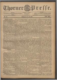 Thorner Presse 1899, Jg. XVII, Nr. 166 + Beilage