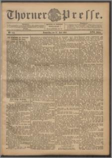 Thorner Presse 1899, Jg. XVII, Nr. 174 + Beilage