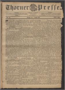 Thorner Presse 1899, Jg. XVII, Nr. 178 + Beilage