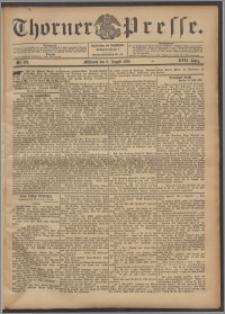Thorner Presse 1899, Jg. XVII, Nr. 179 + Beilage