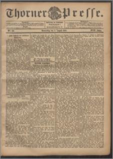 Thorner Presse 1899, Jg. XVII, Nr. 180 + Beilage