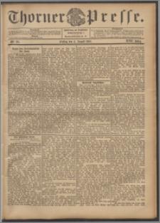 Thorner Presse 1899, Jg. XVII, Nr. 181 + Beilage