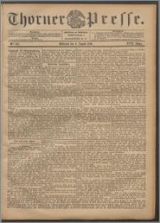 Thorner Presse 1899, Jg. XVII, Nr. 185 + Beilage