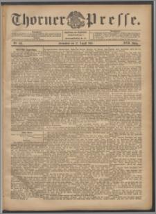 Thorner Presse 1899, Jg. XVII, Nr. 188 + Beilage