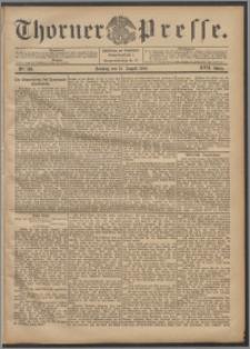 Thorner Presse 1899, Jg. XVII, Nr. 189 + Beilage