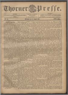 Thorner Presse 1899, Jg. XVII, Nr. 191 + Beilage