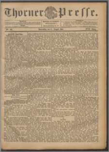 Thorner Presse 1899, Jg. XVII, Nr. 192 + Beilage