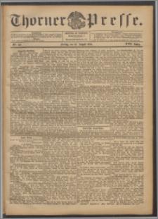 Thorner Presse 1899, Jg. XVII, Nr. 193 + Beilage