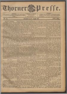 Thorner Presse 1899, Jg. XVII, Nr. 194 + Beilage