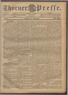 Thorner Presse 1899, Jg. XVII, Nr. 195 + Beilage