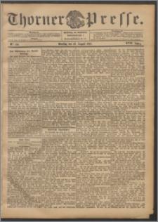 Thorner Presse 1899, Jg. XVII, Nr. 196 + Beilage, Beilagenwerbung