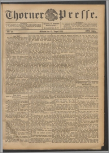 Thorner Presse 1899, Jg. XVII, Nr. 197 + Beilage, Beilagenwerbung