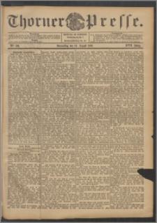 Thorner Presse 1899, Jg. XVII, Nr. 198 + Beilage