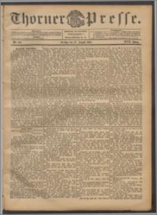 Thorner Presse 1899, Jg. XVII, Nr. 199 + Beilage