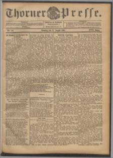 Thorner Presse 1899, Jg. XVII, Nr. 201 + 1. Beilage, 2. Beilage