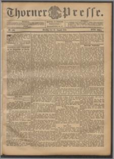 Thorner Presse 1899, Jg. XVII, Nr. 202 + Beilage