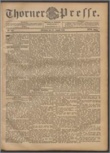 Thorner Presse 1899, Jg. XVII, Nr. 203 + Beilage