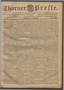 Thorner Presse 1899, Jg. XVII, Nr. 204 + Beilage