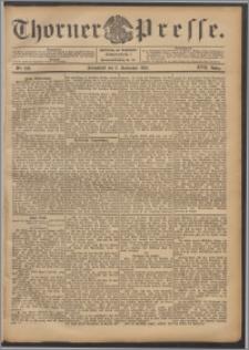 Thorner Presse 1899, Jg. XVII, Nr. 206 + Beilage