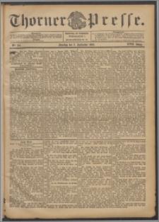 Thorner Presse 1899, Jg. XVII, Nr. 207 + Beilage