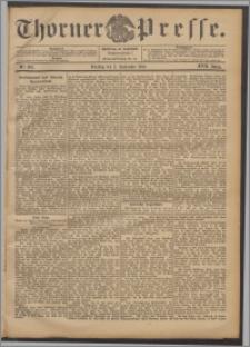 Thorner Presse 1899, Jg. XVII, Nr. 208 + Beilage