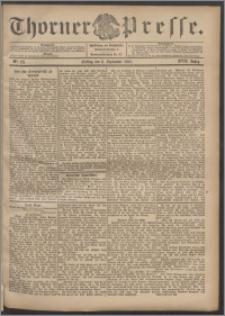 Thorner Presse 1899, Jg. XVII, Nr. 211 + Beilage