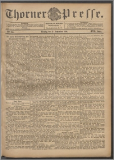 Thorner Presse 1899, Jg. XVII, Nr. 214 + Beilage