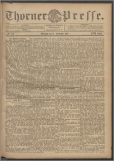 Thorner Presse 1899, Jg. XVII, Nr. 215 + Beilage