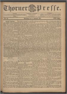 Thorner Presse 1899, Jg. XVII, Nr. 216 + Beilage