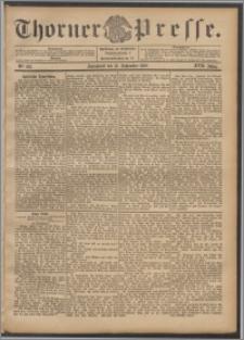 Thorner Presse 1899, Jg. XVII, Nr. 218 + Beilage