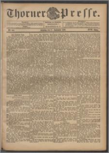 Thorner Presse 1899, Jg. XVII, Nr. 219 + 1. Beilage, 2. Beilage