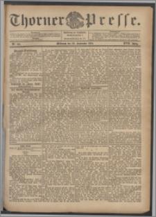 Thorner Presse 1899, Jg. XVII, Nr. 221 + Beilage