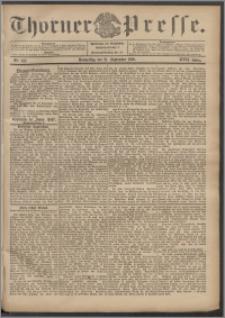 Thorner Presse 1899, Jg. XVII, Nr. 222 + Beilage