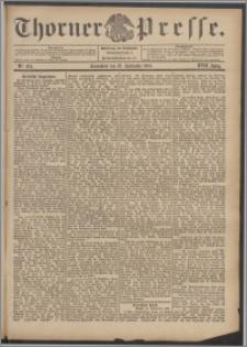 Thorner Presse 1899, Jg. XVII, Nr. 224 + Beilage