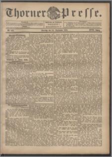 Thorner Presse 1899, Jg. XVII, Nr. 225 + 1. Beilage, 2. Beilage