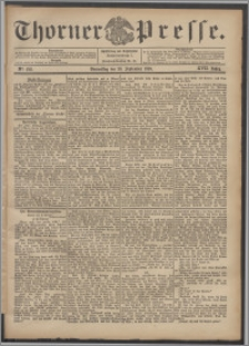 Thorner Presse 1899, Jg. XVII, Nr. 228 + Beilage