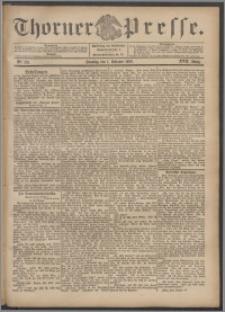 Thorner Presse 1899, Jg. XVII, Nr. 231 + 1. Beilage, 2. Beilage