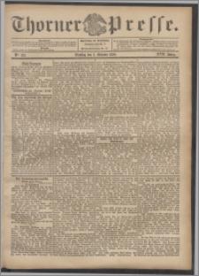 Thorner Presse 1899, Jg. XVII, Nr. 232 + Beilage, Extrablatt