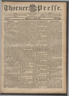 Thorner Presse 1899, Jg. XVII, Nr. 233 + Beilage