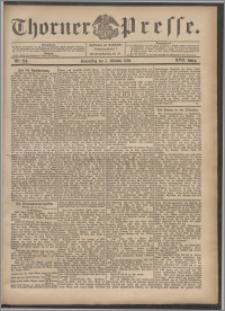 Thorner Presse 1899, Jg. XVII, Nr. 234 + Beilage