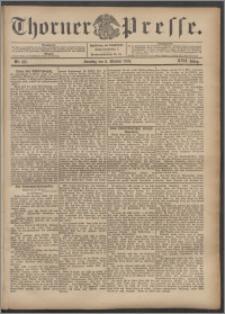 Thorner Presse 1899, Jg. XVII, Nr. 237 + 1. Beilage, 2. Beilage