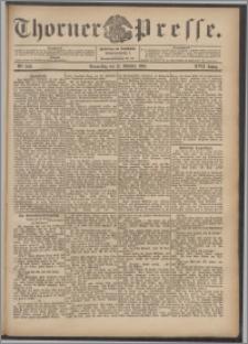 Thorner Presse 1899, Jg. XVII, Nr. 240 + Beilage