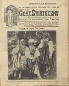 Gość Świąteczny 1927.09.18 R. XXXI nr 38