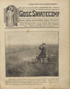 Gość Świąteczny 1927.10.02 R. XXXI nr 40