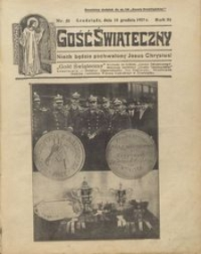 Gość Świąteczny 1927.12.18 R. XXXI nr 51
