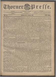 Thorner Presse 1899, Jg. XVII, Nr. 249 + 1. Beilage, 2. Beilage