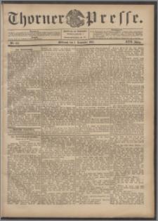Thorner Presse 1899, Jg. XVII, Nr. 257 + Beilage