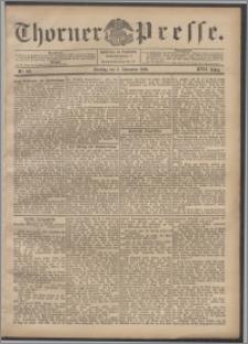 Thorner Presse 1899, Jg. XVII, Nr. 261 + 1. Beilage, 2. Beilage