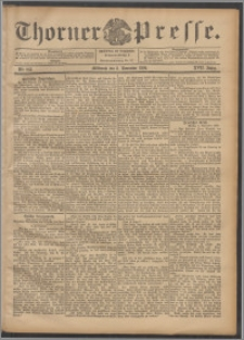 Thorner Presse 1899, Jg. XVII, Nr. 263 + Beilage