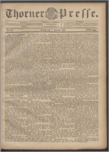 Thorner Presse 1899, Jg. XVII, Nr. 267 + 1. Beilage, 2. Beilage